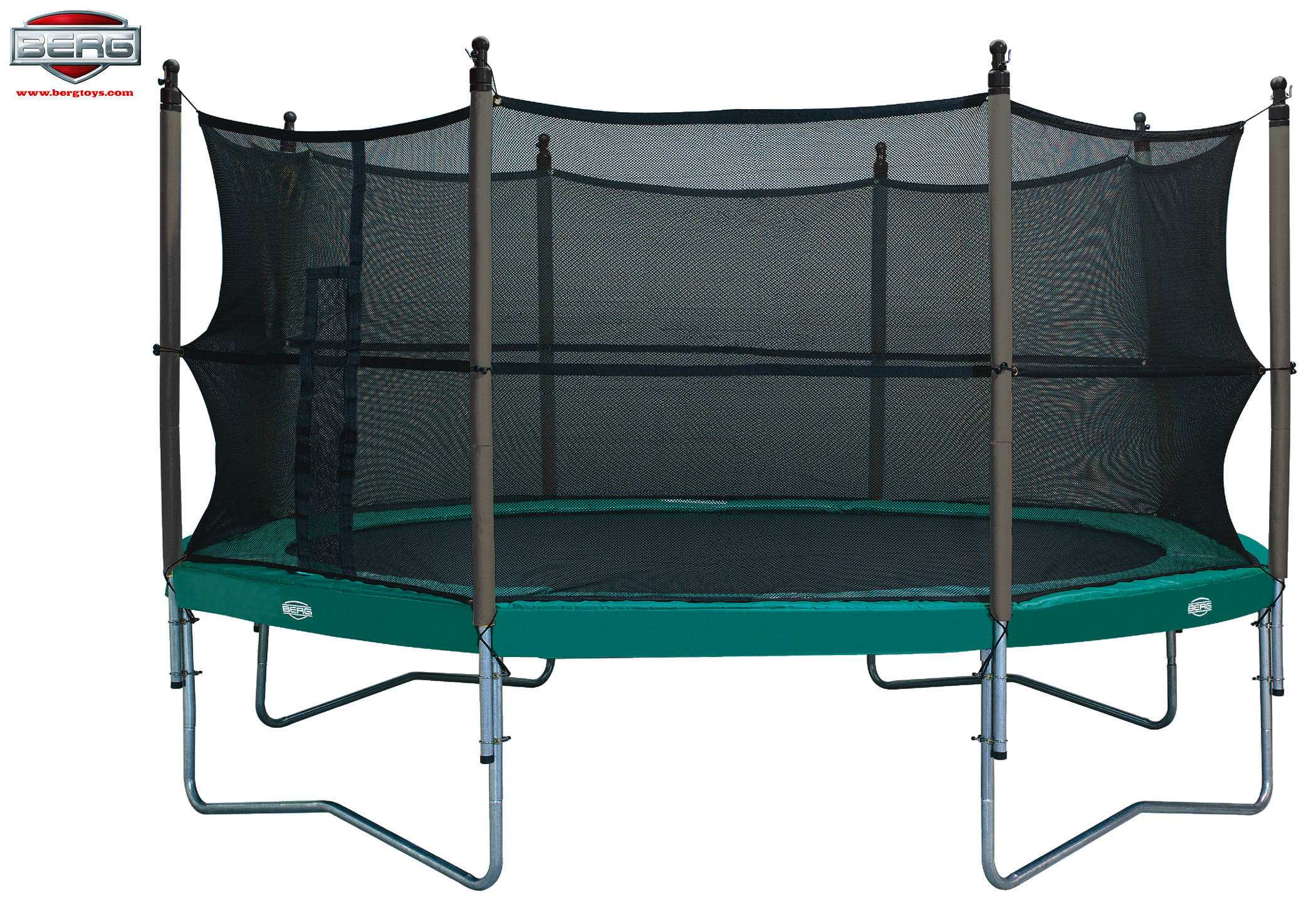 sicherheitsnetz 430 f r trampolin von bergtoys sonntag toys. Black Bedroom Furniture Sets. Home Design Ideas
