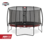 BERG Trampolin Elite Red 380 + Sicherheitsnetz Deluxe